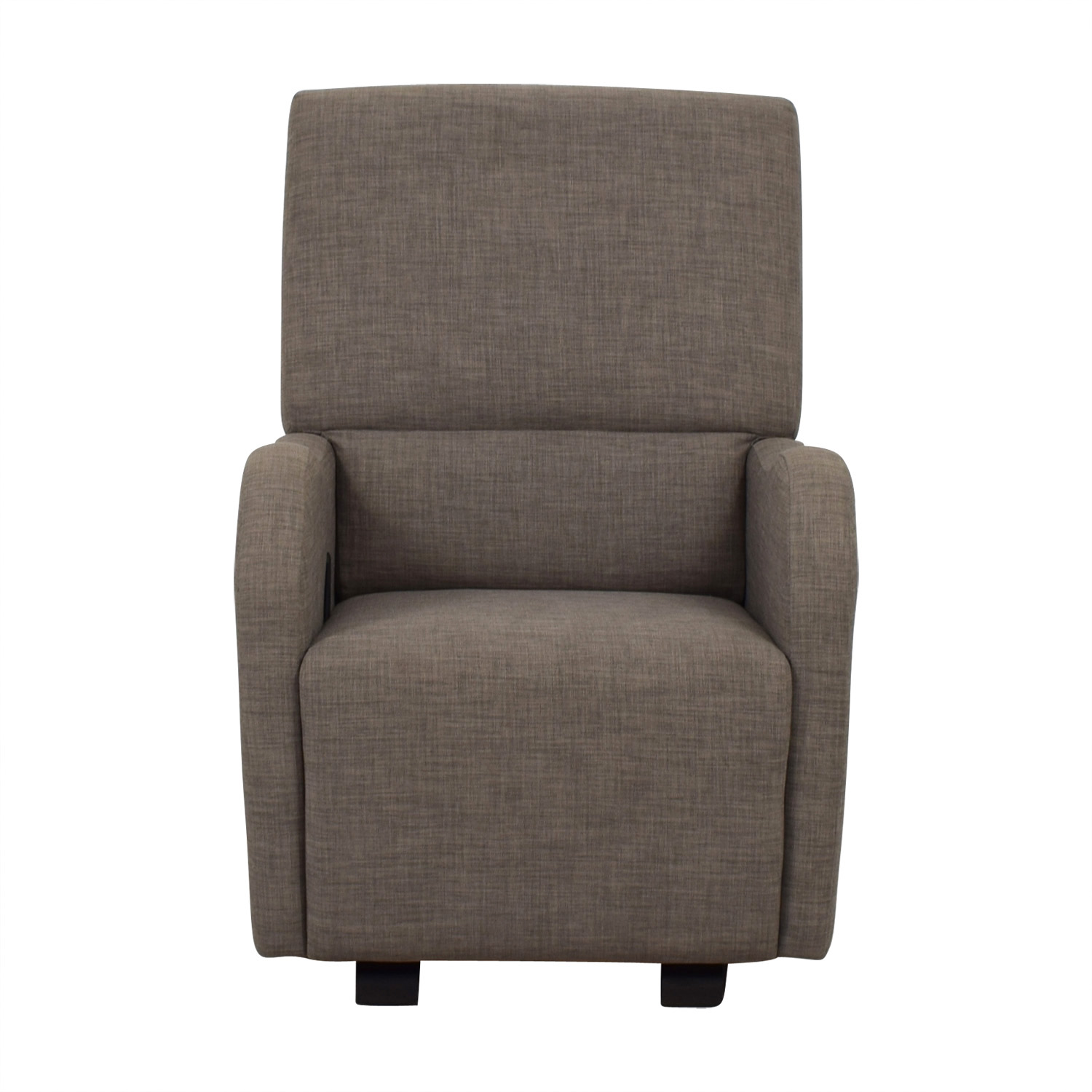 shop Dutailier Grey Glider Reclining Chair Dutailier Sofas