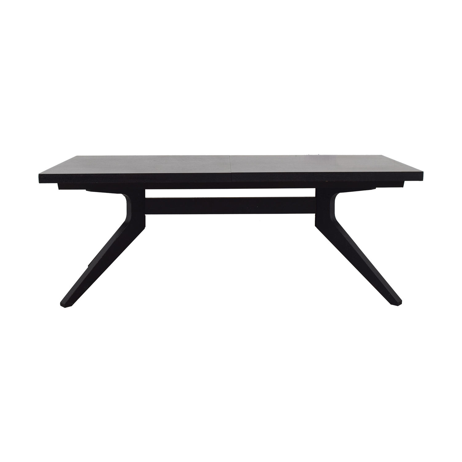 shop Design Within Reach Design Within Reach Black Extendable Table online