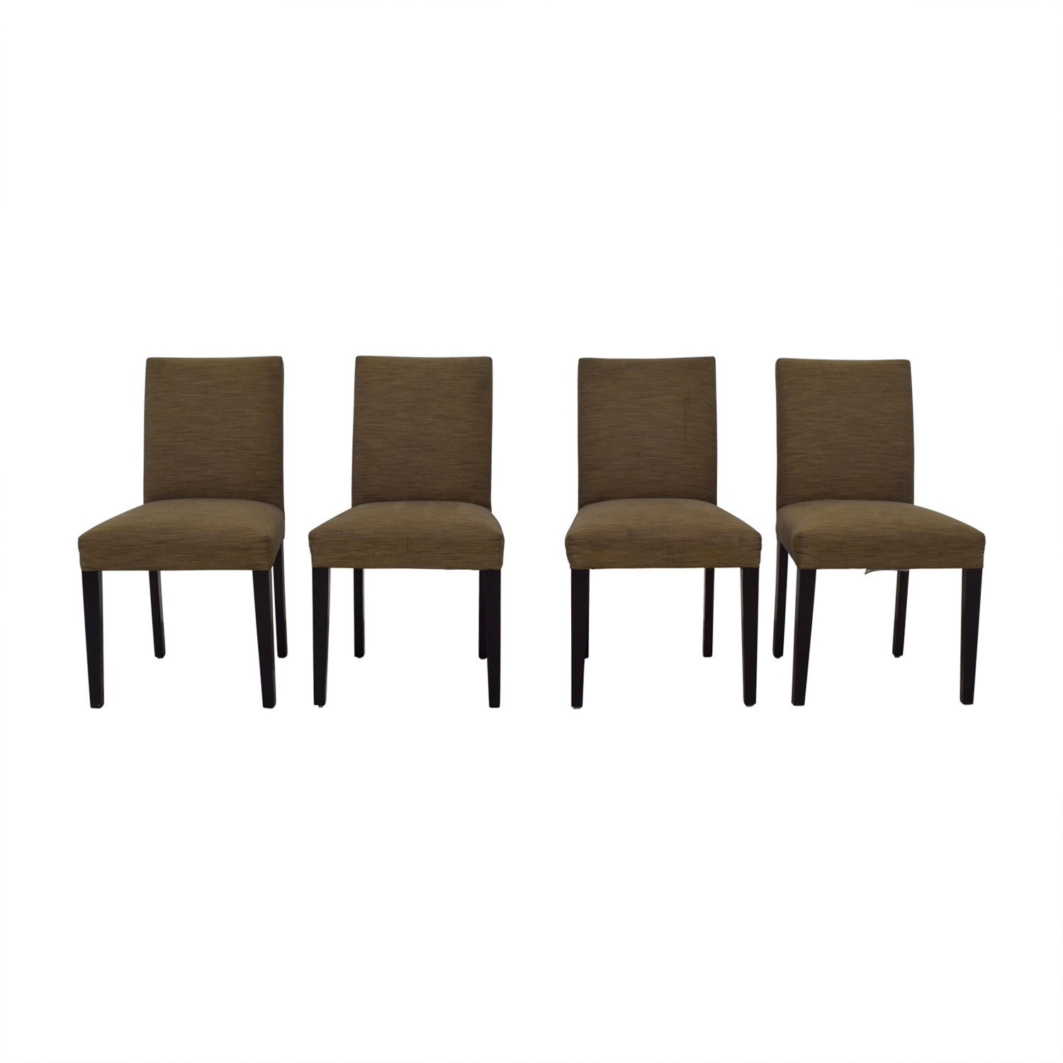 Room & Board Brown Upholstered Dining Chairs Room & Board