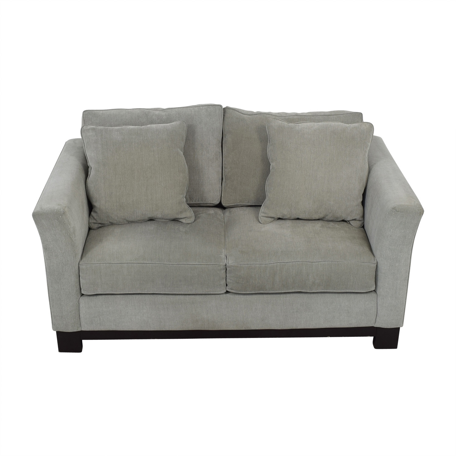 Macy's Macy's Light Blue Loveseat nyc