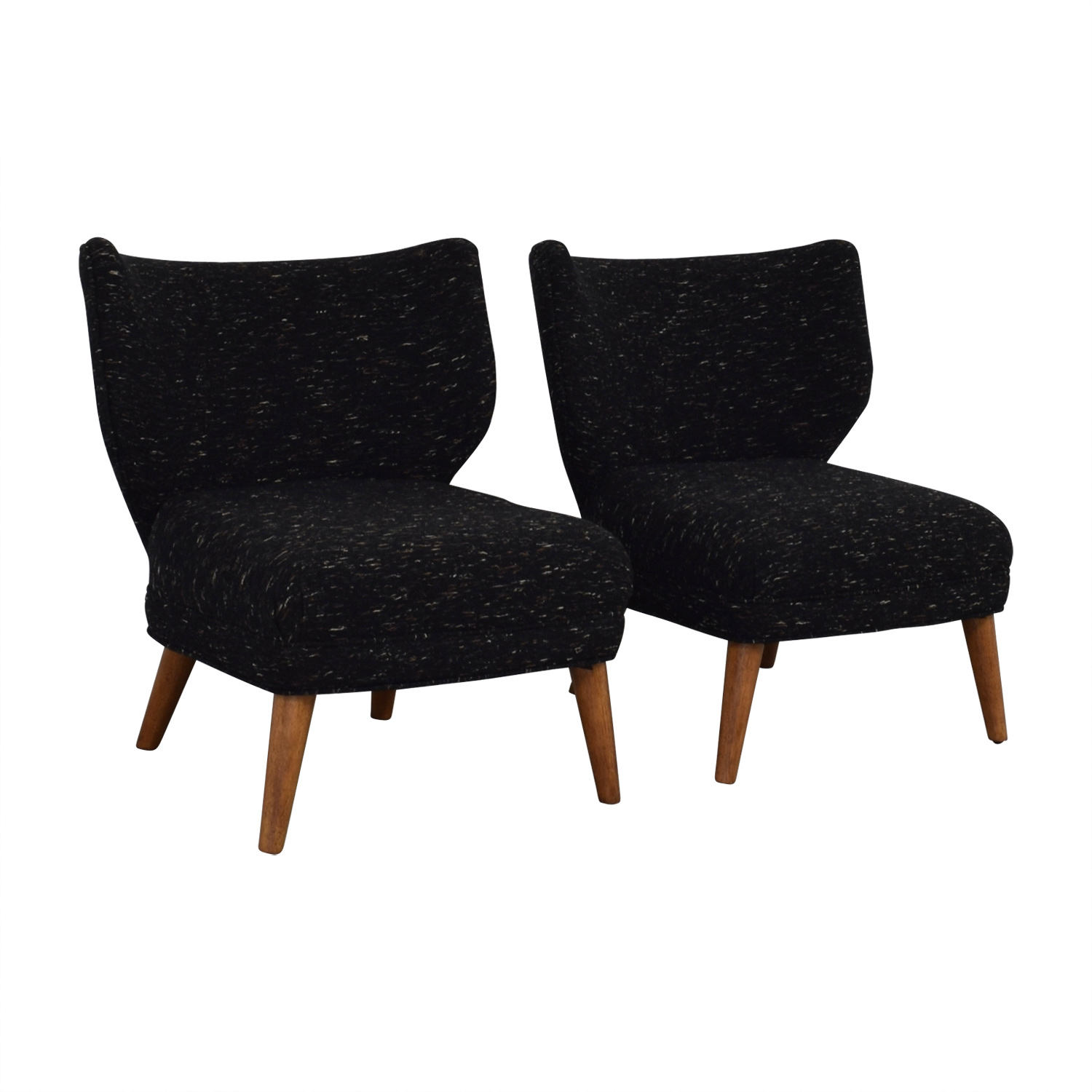 West Elm West Elm Retro Blue Wing Chairs price