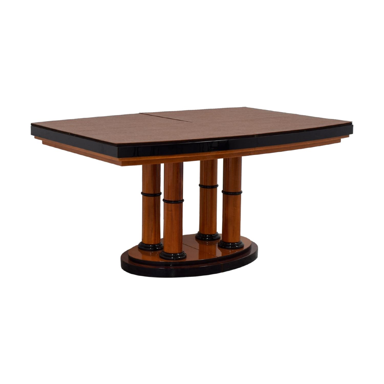 ... Shop Manhattan Cabinetry Custom Expandable Dining Table Manhattan  Cabinetry ...