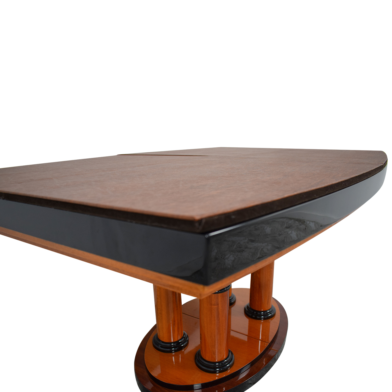... Shop Manhattan Cabinetry Custom Expandable Dining Table Manhattan  Cabinetry