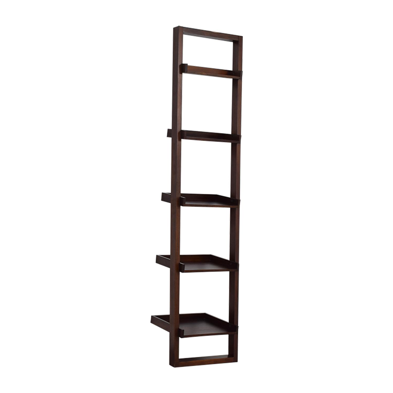 Crate & Barrel Crate & Barrel Leaning Bookshelf discount