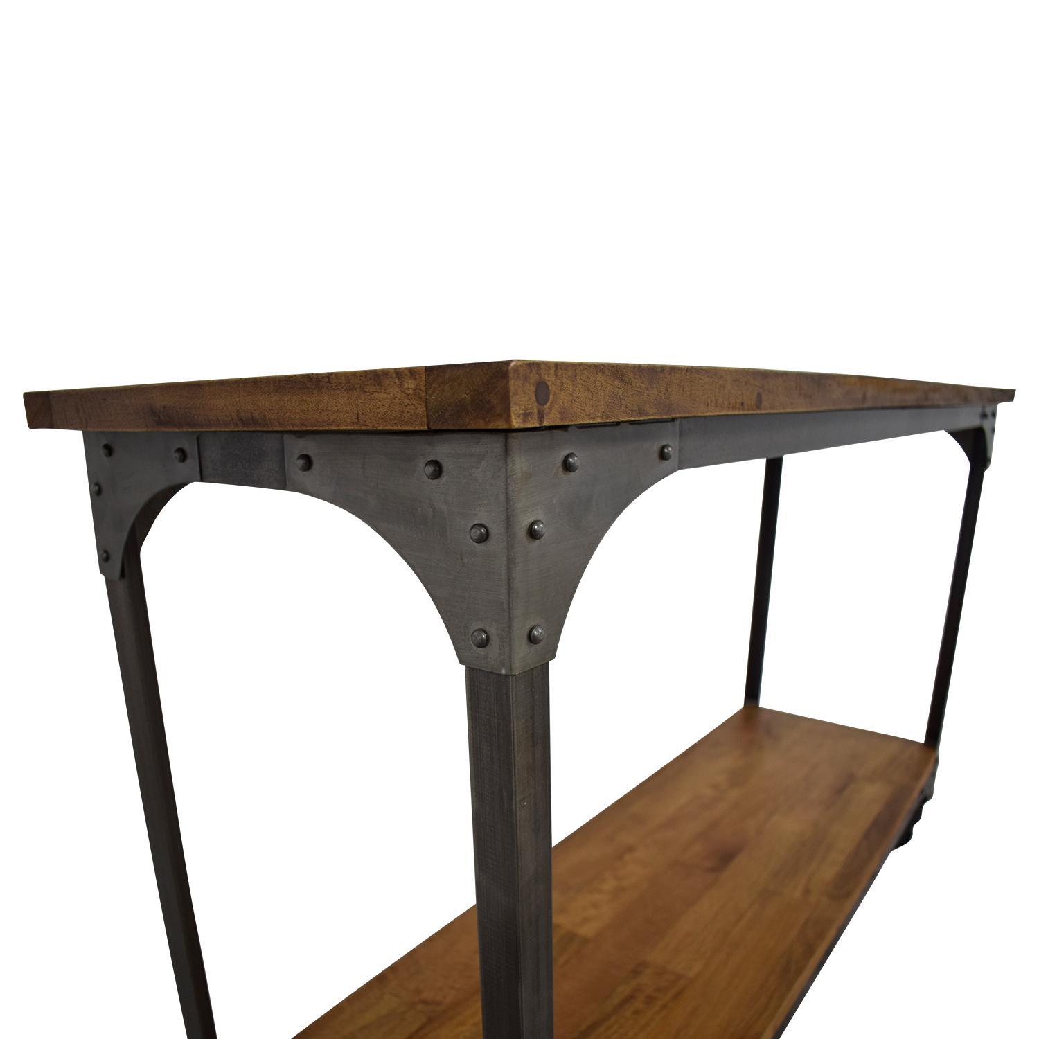 World Market World Market Aiden Wood and Metal Console Table