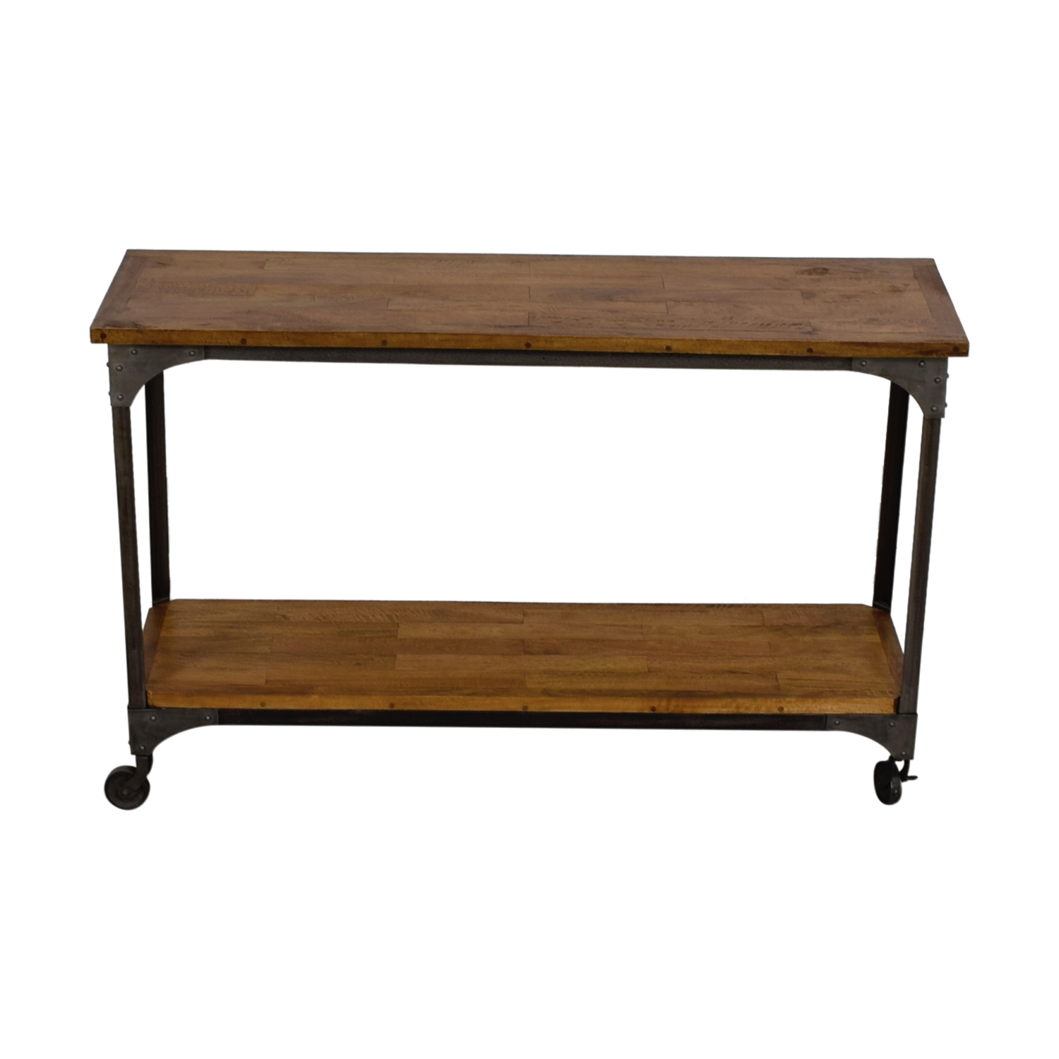 Bon ... Shop World Market World Market Aiden Wood And Metal Console Table  Online ...