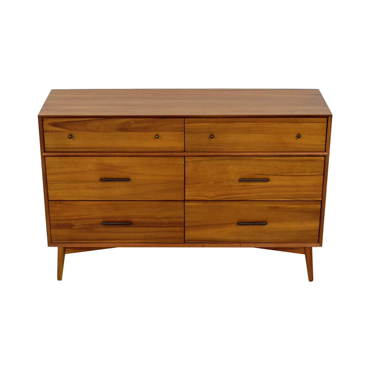 West Elm West Elm Mid-Century Acorn Six-Drawer Dresser Storage