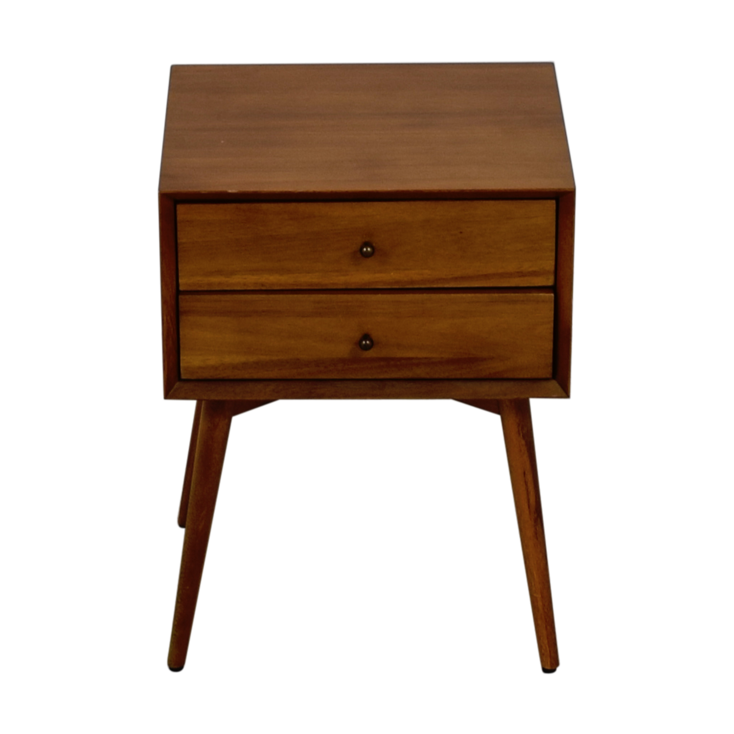 West Elm West Elm Acorn Two-Drawer Nightstand for sale
