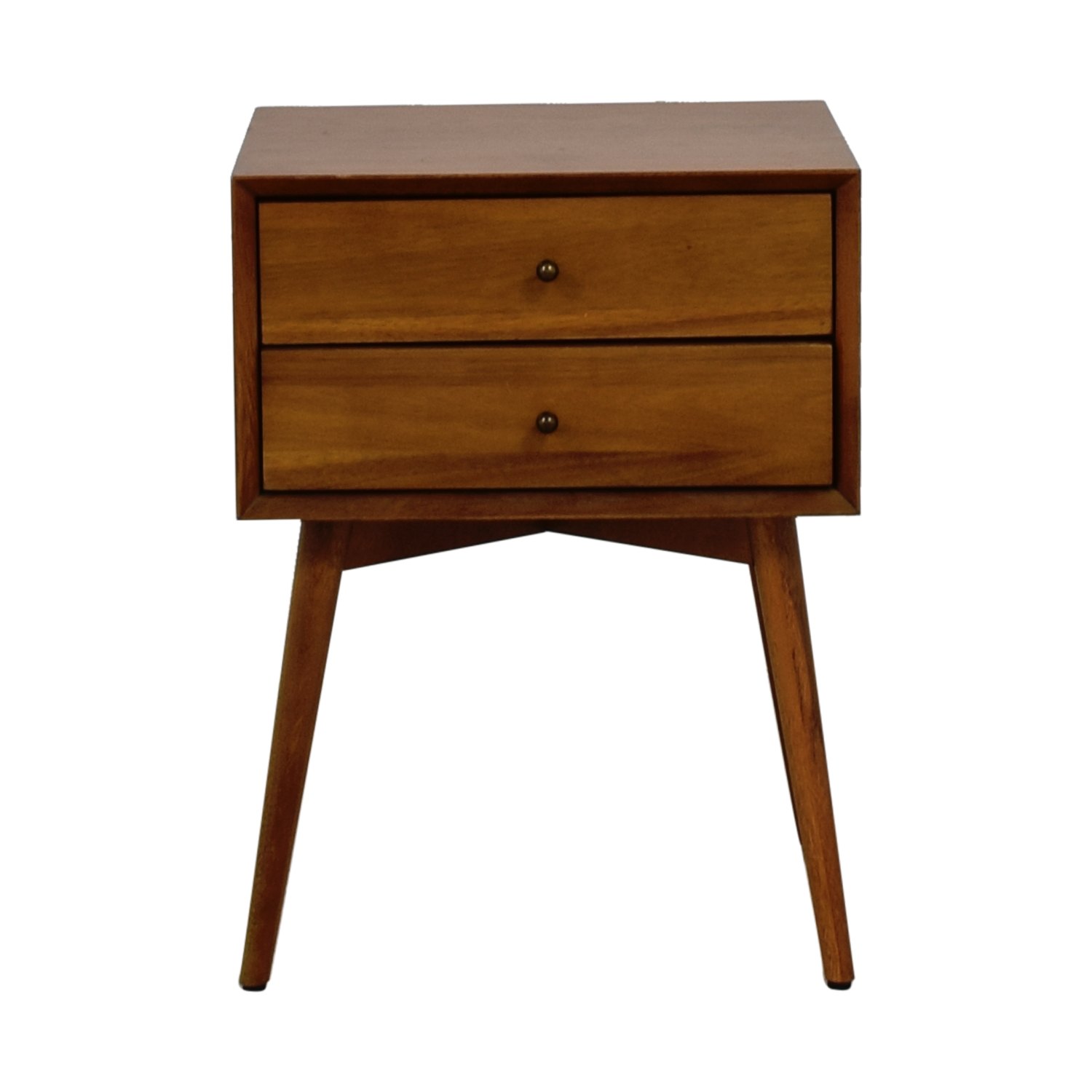 West Elm West Elm Acorn Two-Drawer Nightstand on sale