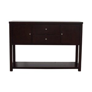 Mitchell Gold + Bob Williams Wood Sideboard Buffet sale