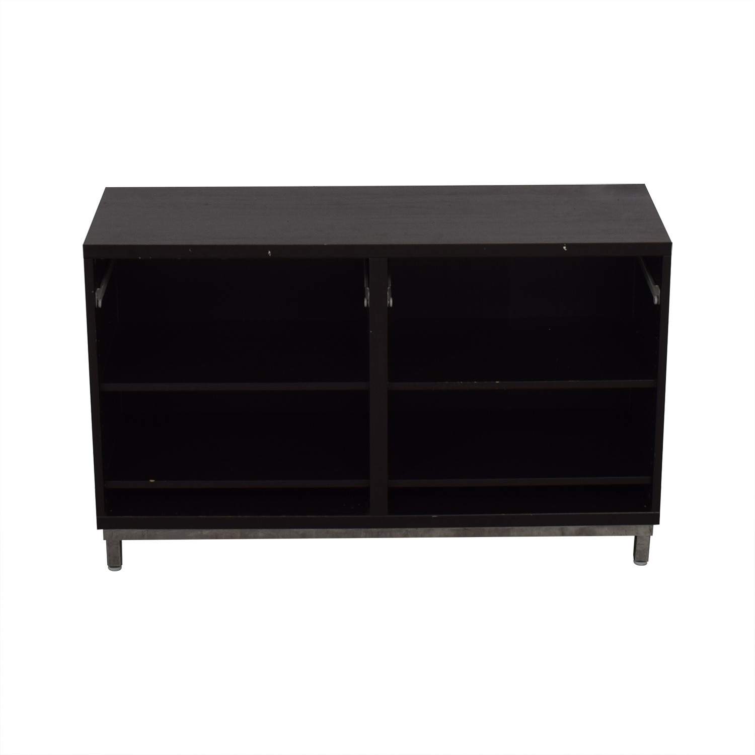 IKEA IKEA Black Credenza or Sideboard black