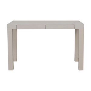 buy West Elm West Elm Parsons White Single Drawer Desk online