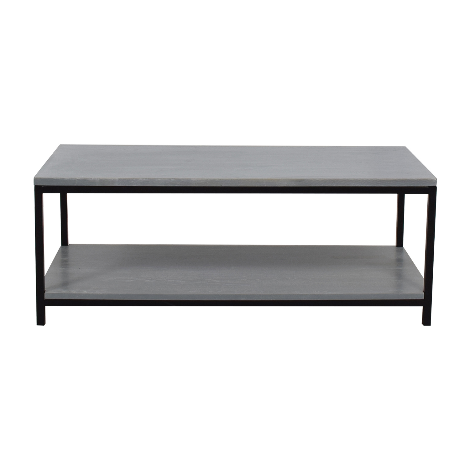 American Trails American Trails Grey Wood and Metal Coffee Table price