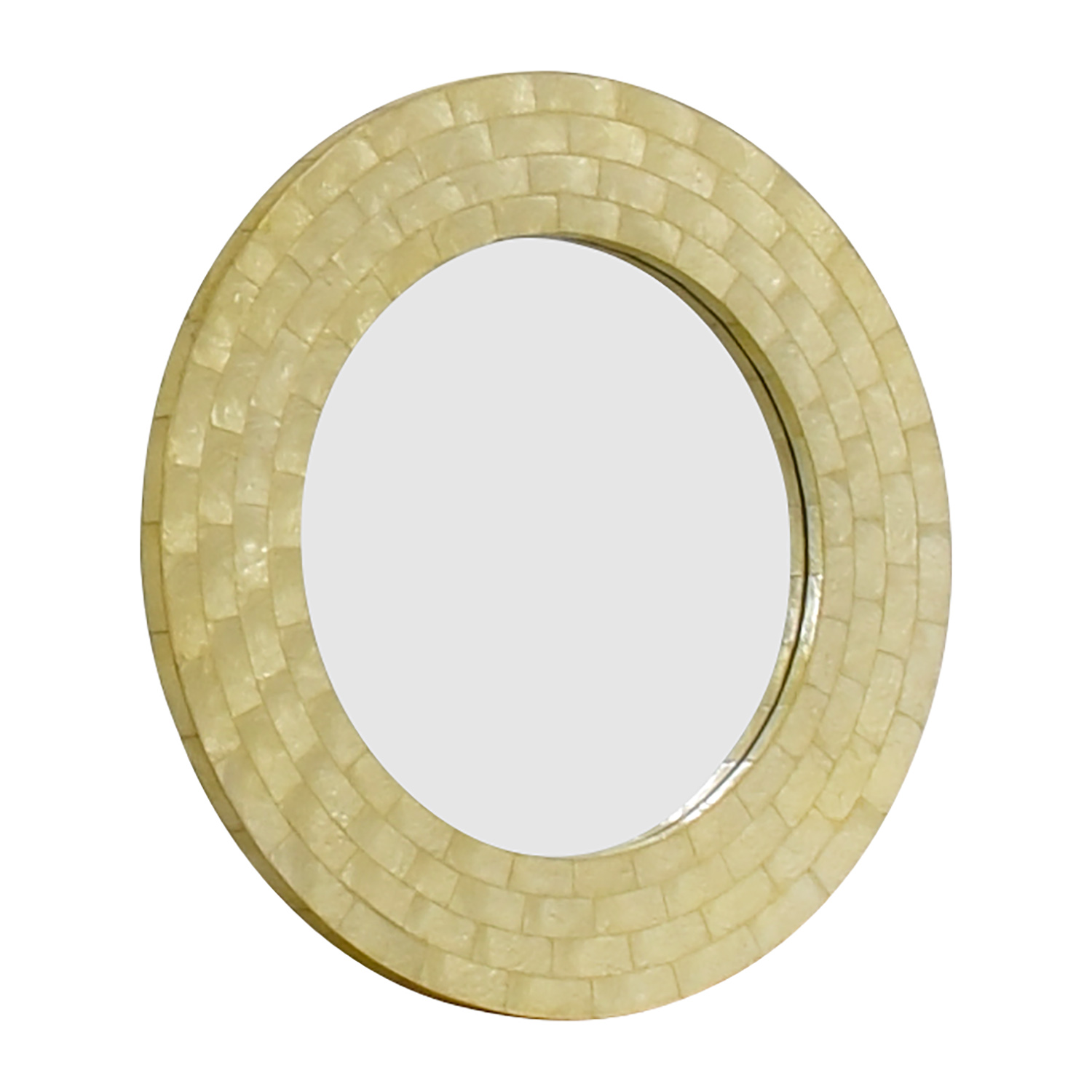 West Elm West Elm Mother of Pearl Round Mirror price