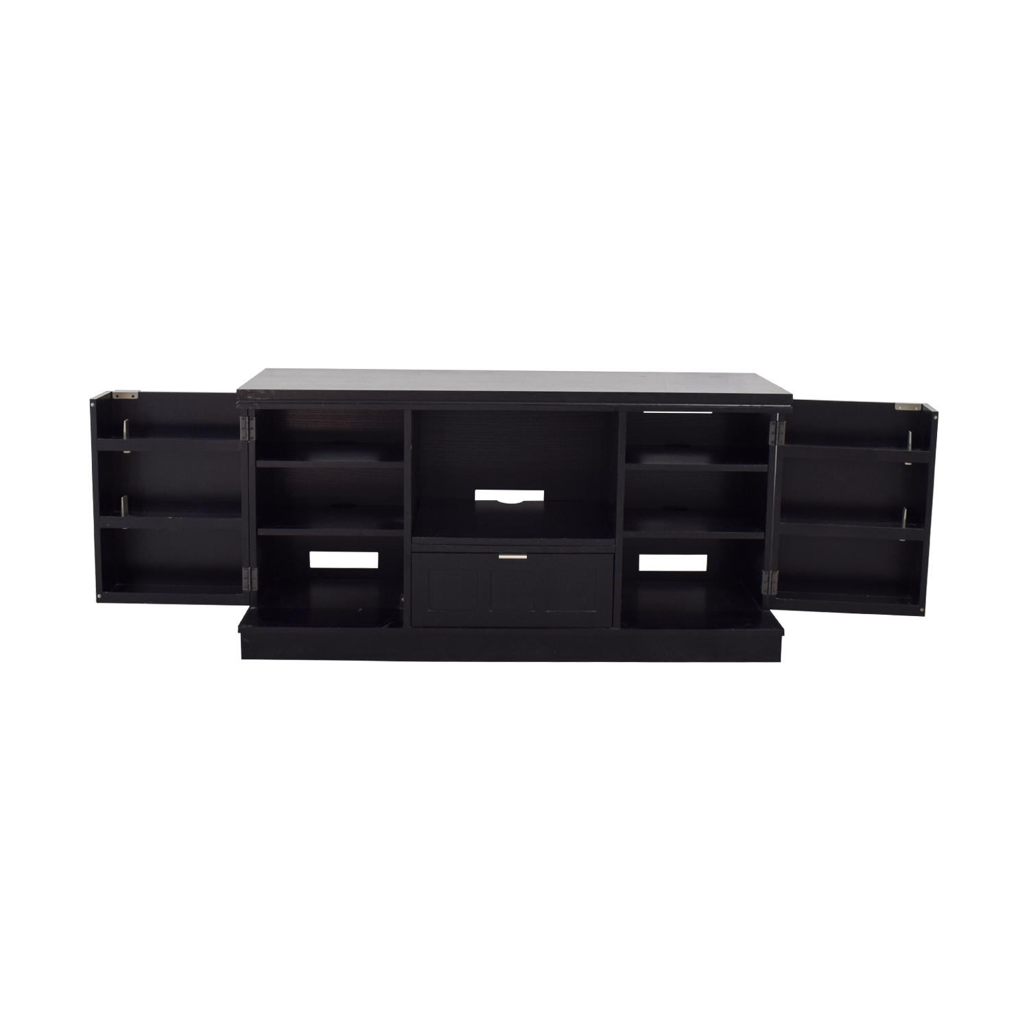 Crate & Barrel Crate & Barrel Wood Media Console discount
