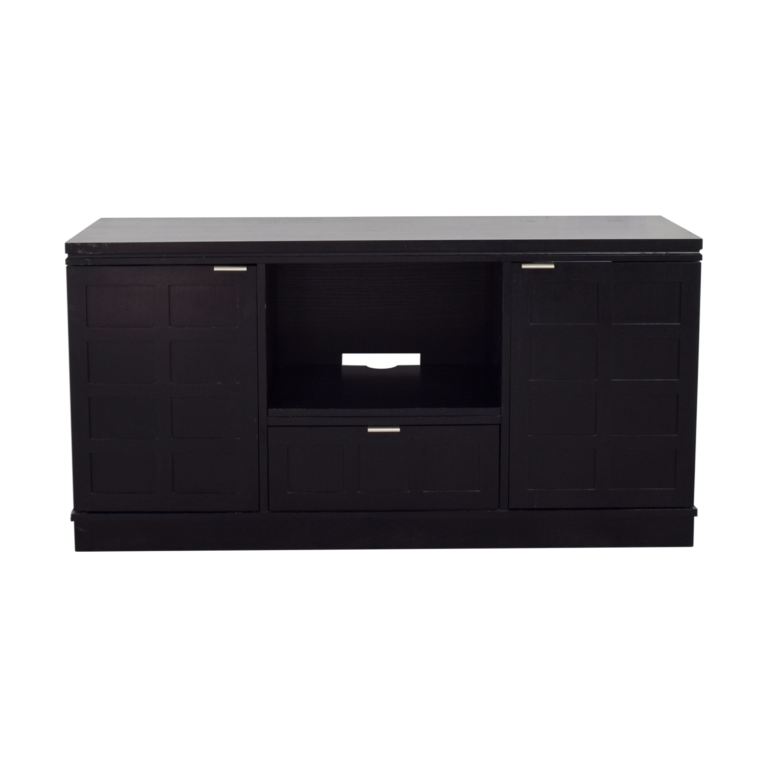 buy Crate & Barrel Wood Media Console Crate & Barrel Media Units