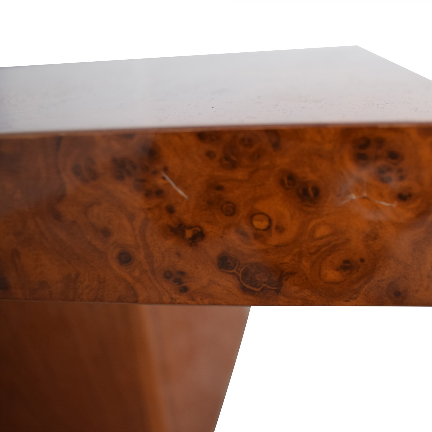 Wood And Metal Multi Level Coffee Table.86 Off Multi Level Burl Style Coffee Table Tables