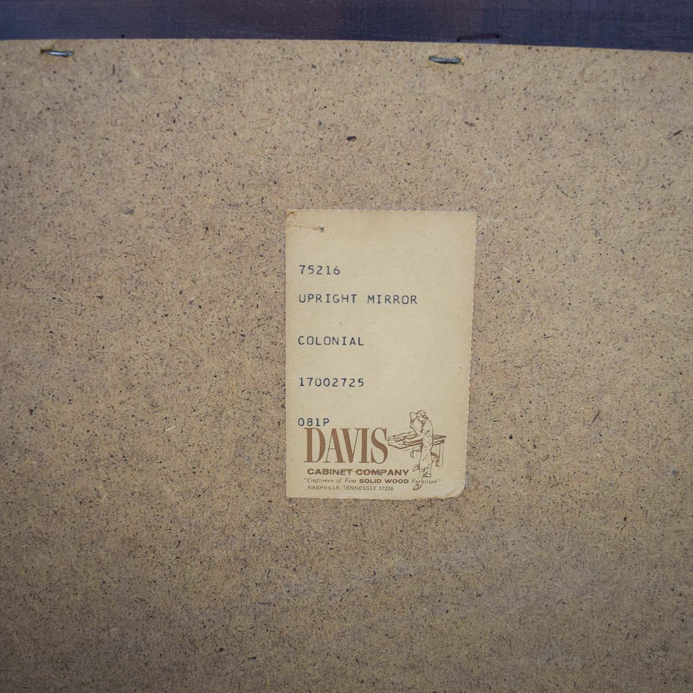 Davis Cabinet Company Davis Cabinet Company Wood Frame Mirror price
