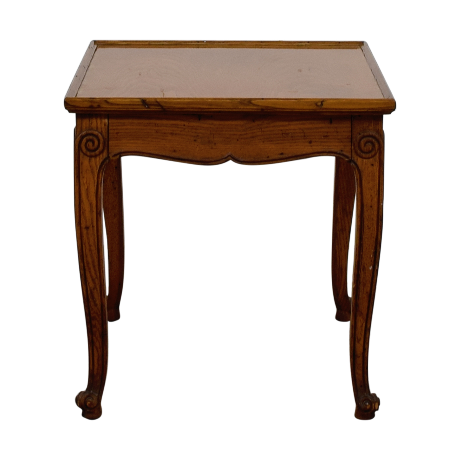 buy Single-Drawer Wood End Table  Tables