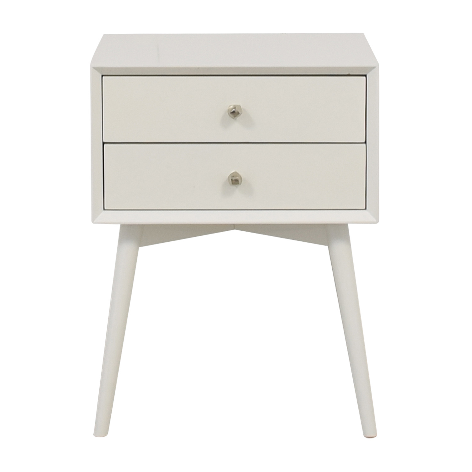 West Elm West Elm White  Nightstand nj