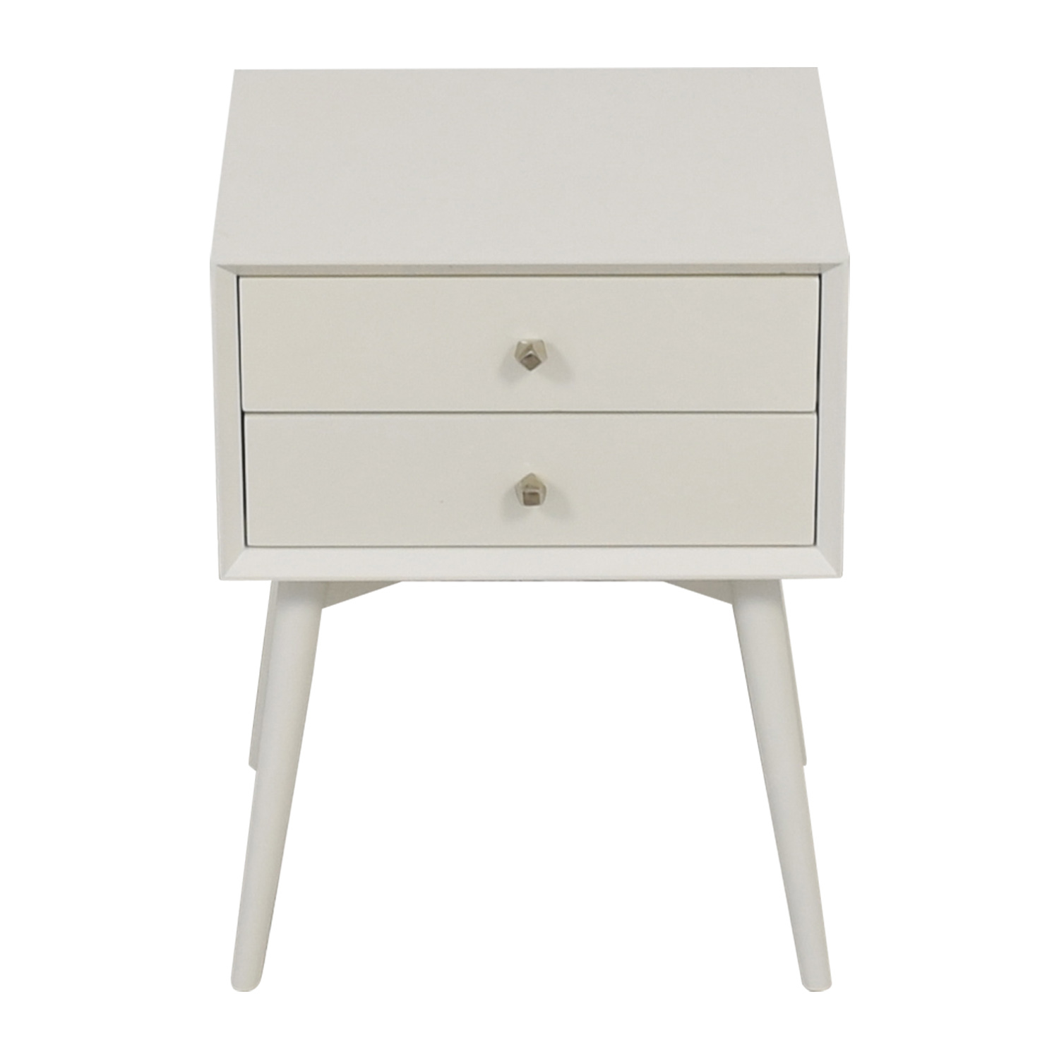 West Elm West Elm White  Nightstand on sale