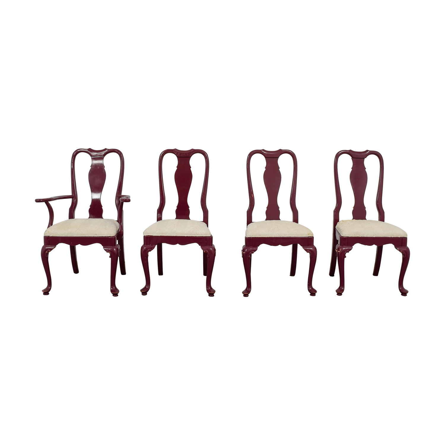 Century Chair Co Carved Wood Chairs and Arm Chair sale