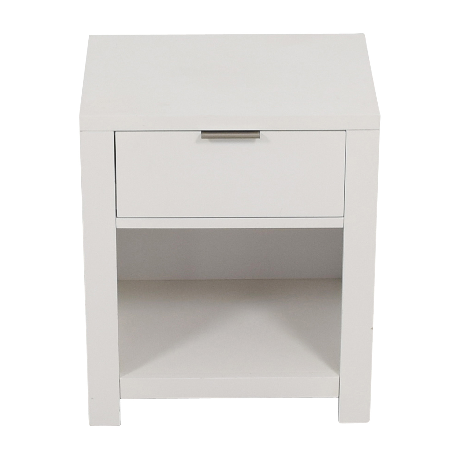 Home Meridian Home Meridian Tribeca White Single Drawer Nightstand on sale