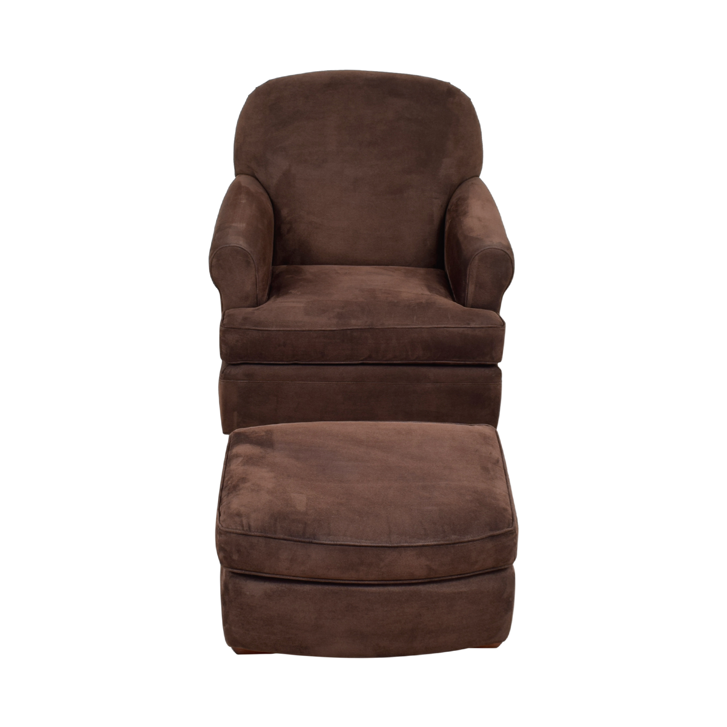 Land Of Nod Dylan Swivel Glider Chair And Ottoman
