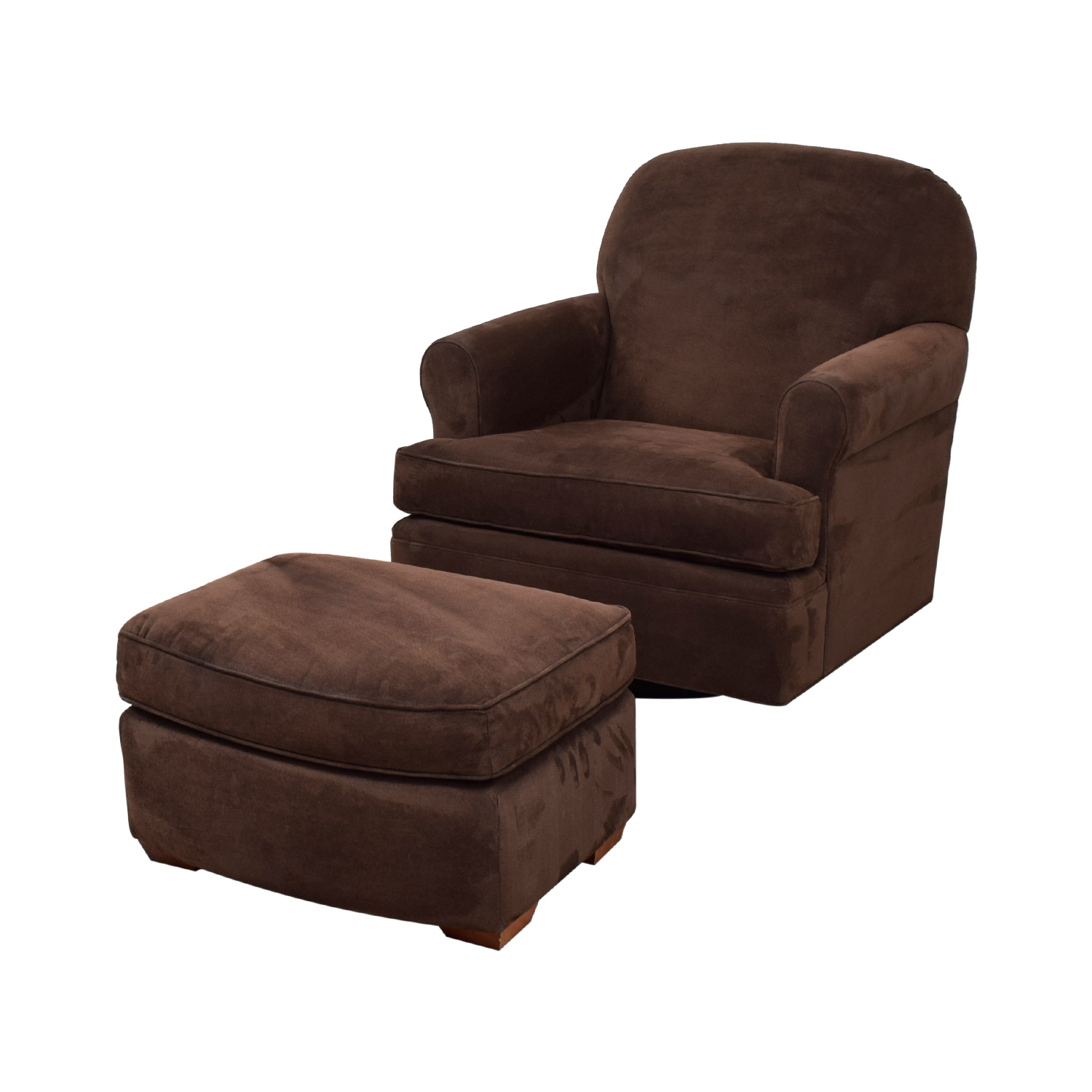 Peachy 90 Off Land Of Nod Land Of Nod Dylan Swivel Glider Chair And Ottoman Chairs Beatyapartments Chair Design Images Beatyapartmentscom