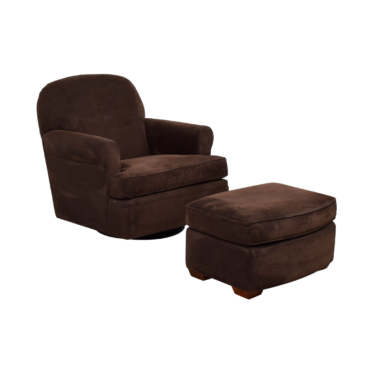 Admirable 90 Off Land Of Nod Land Of Nod Dylan Swivel Glider Chair And Ottoman Chairs Beatyapartments Chair Design Images Beatyapartmentscom