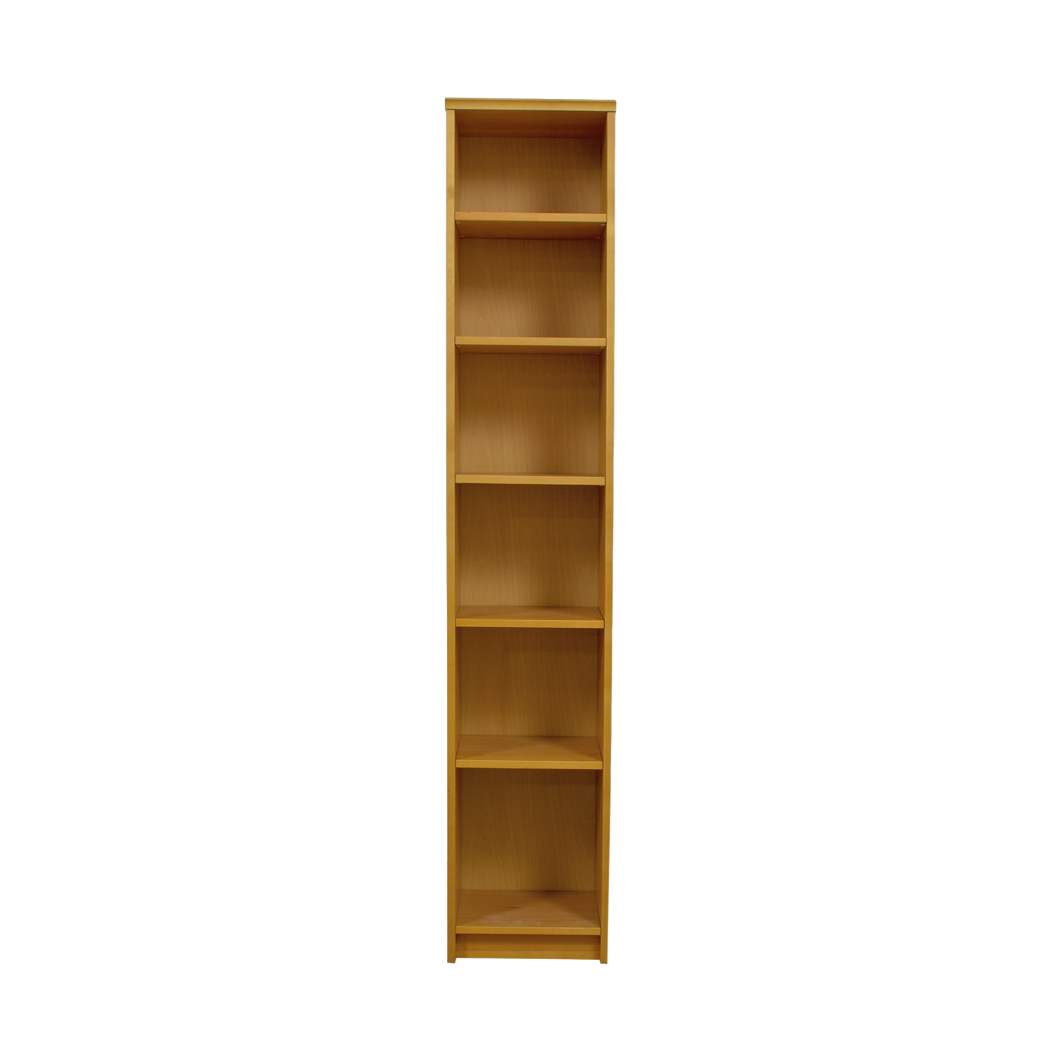 Tall Wood Bookshelf