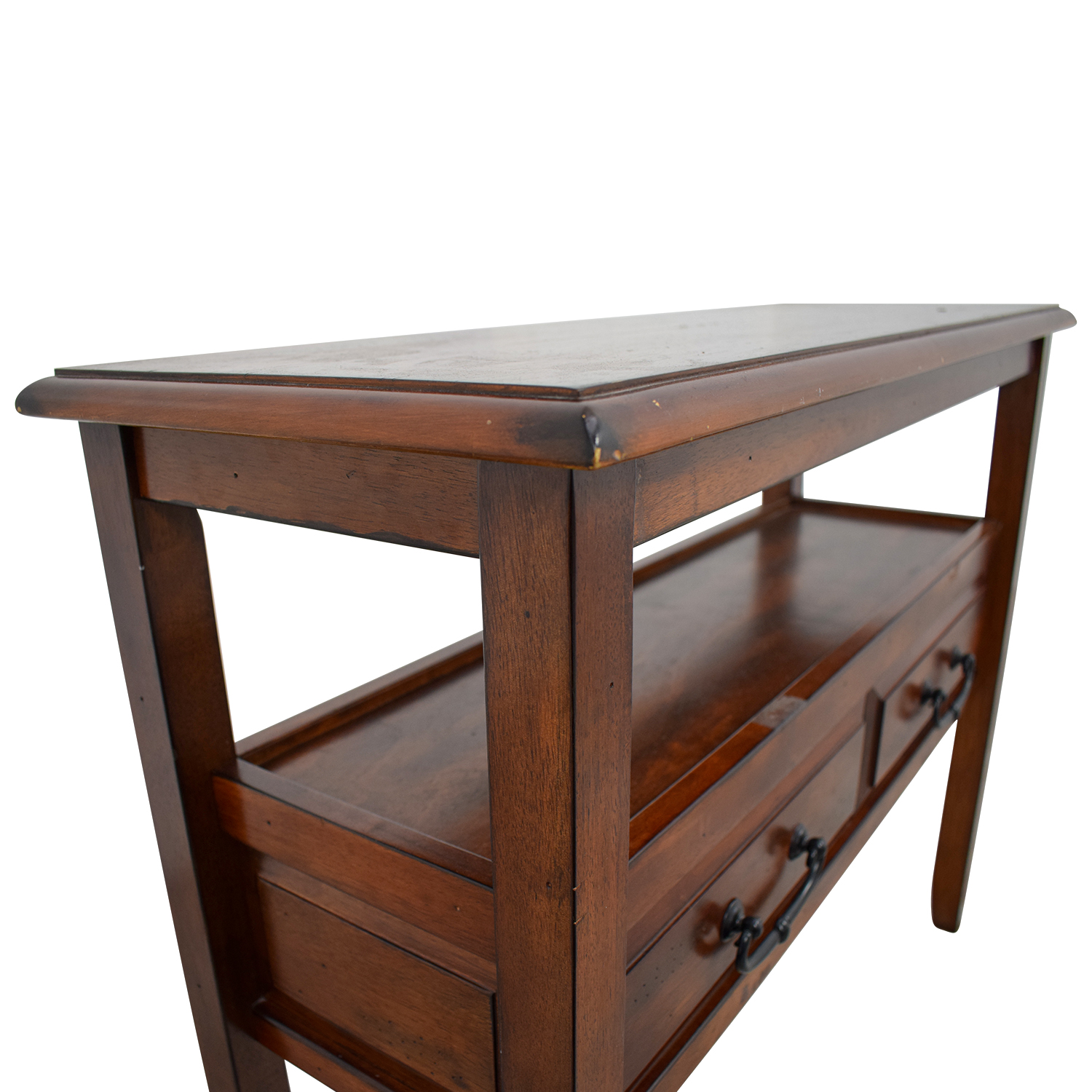 Pier1 Dining Table: Pier 1 Imports Pier 1 Imports Wood Two-Drawer