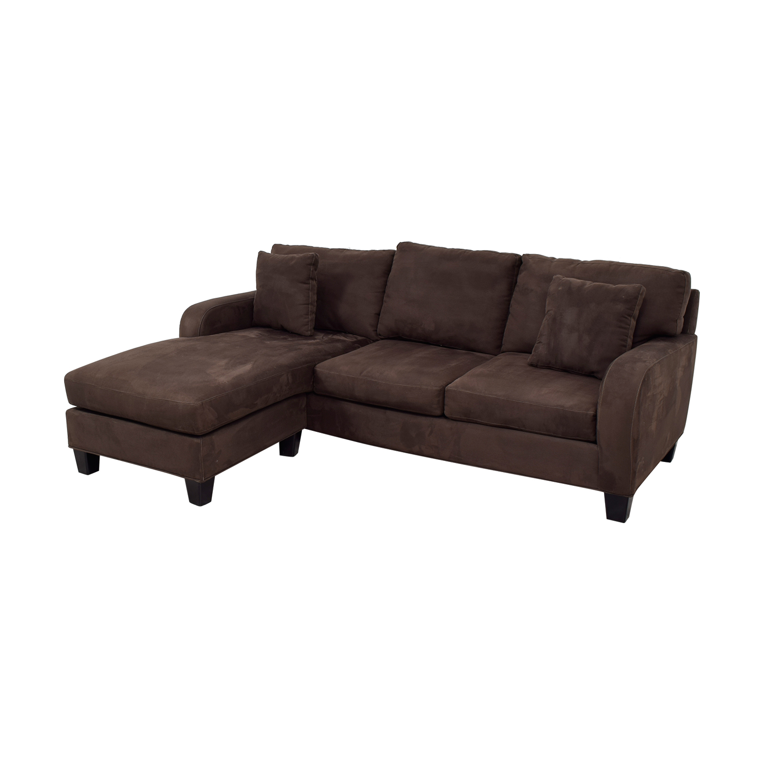 ... Cindy Crawford Home Cindy Crawford Home Brown Chaise Sectional Nyc ...