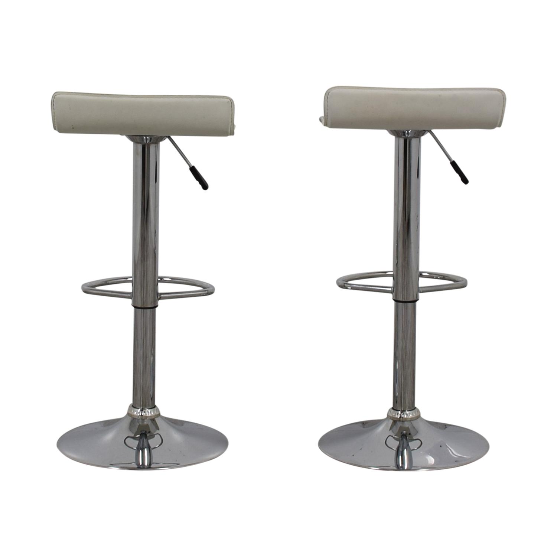 Vangue Vangue White Bar Stools Chairs