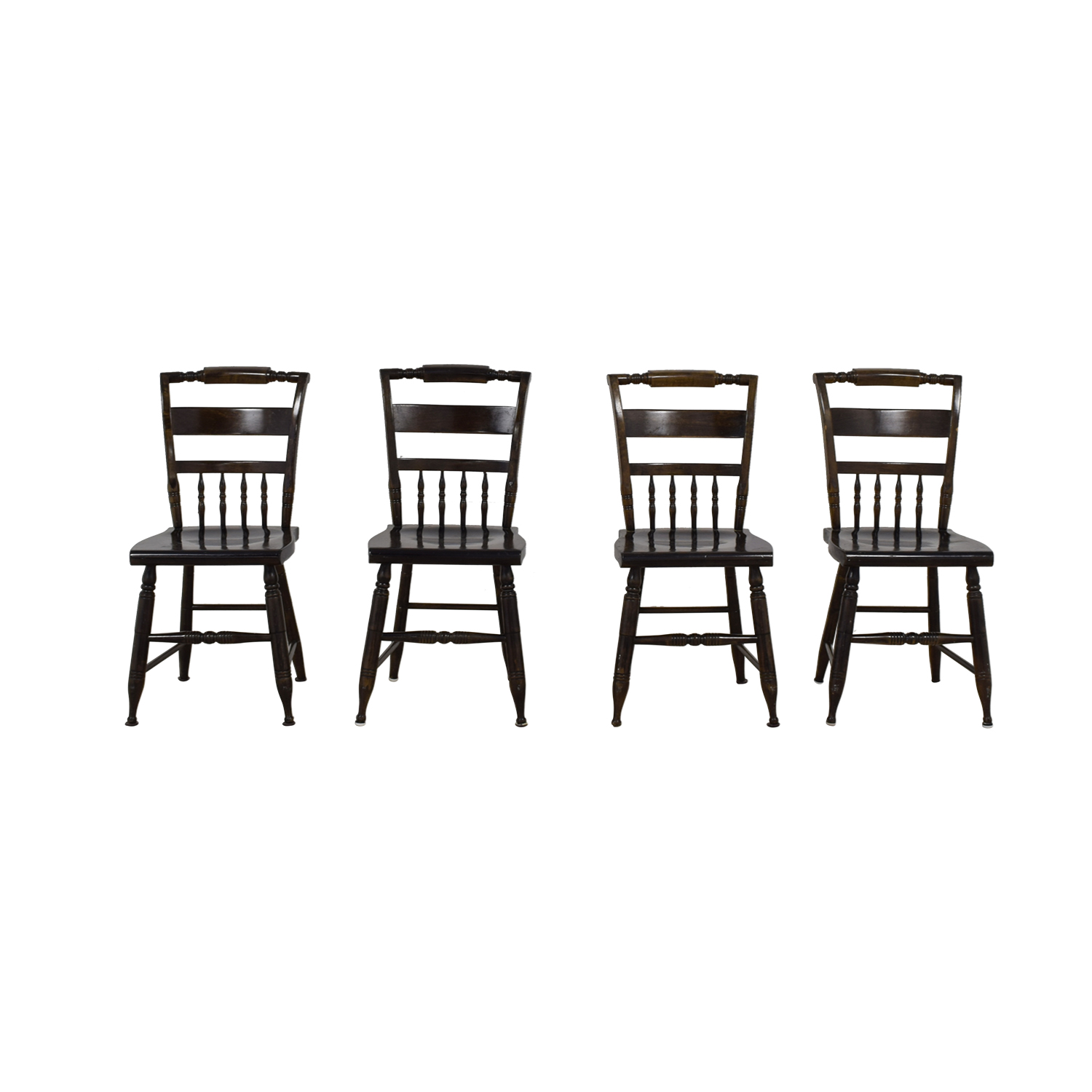 Windsor Wood Chairs for sale