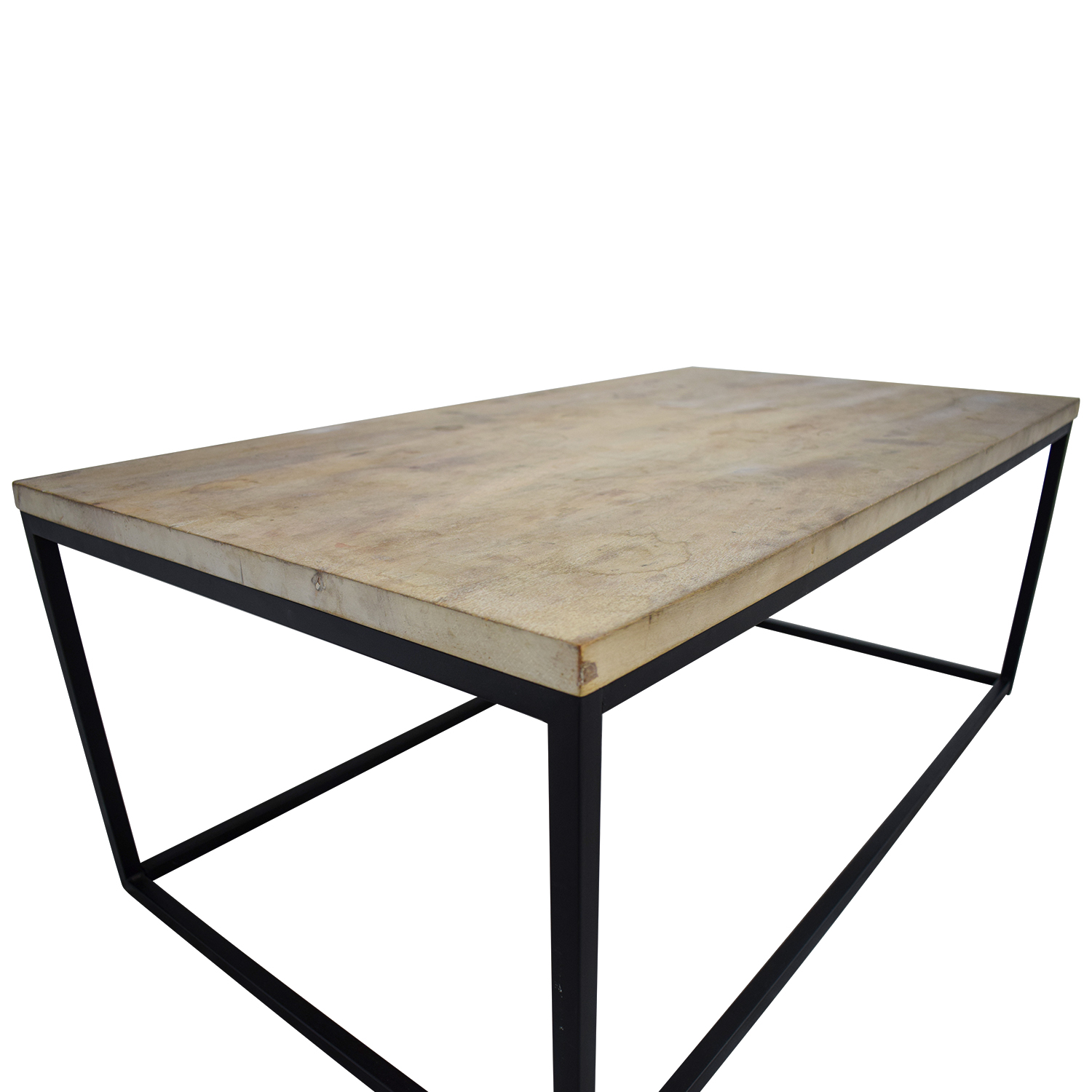 OFF West Elm West Elm Box Frame Wooden Coffee Table Tables - West elm coffee table sale
