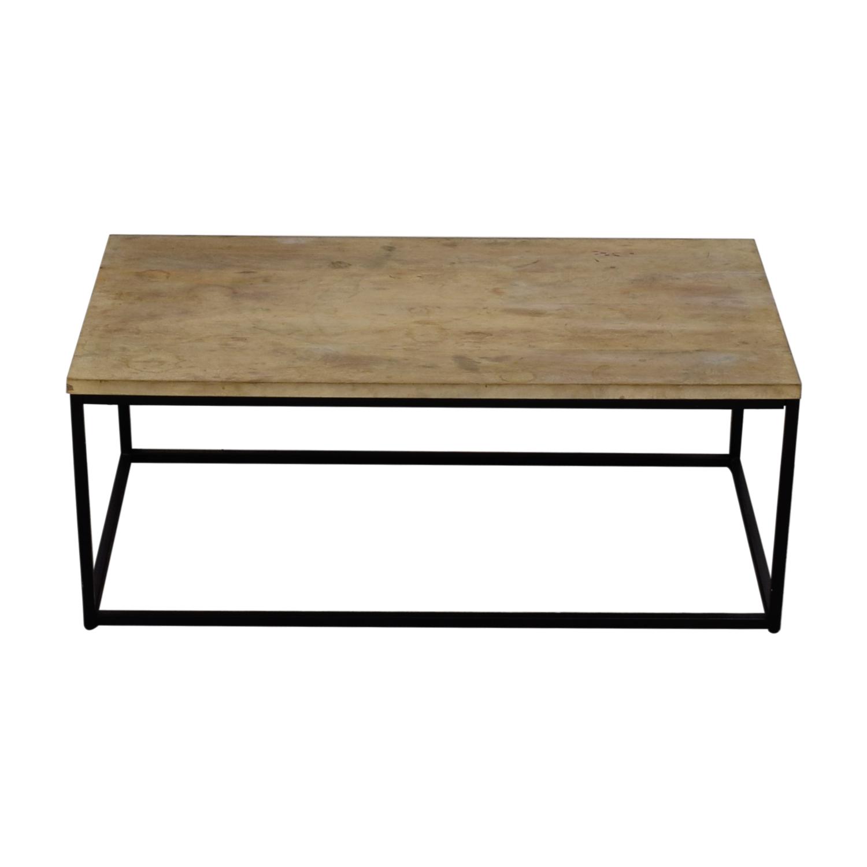 West Elm West Elm Box Frame Wooden Coffee Table