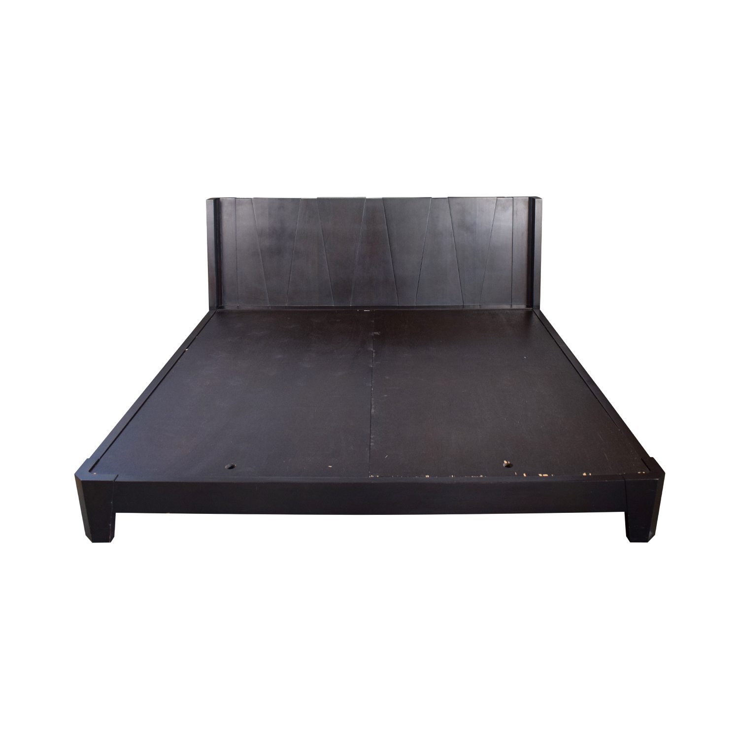 Charles P Rogers Charles P Rogers Barcelona Wood Platform King Bed Frame dimensions