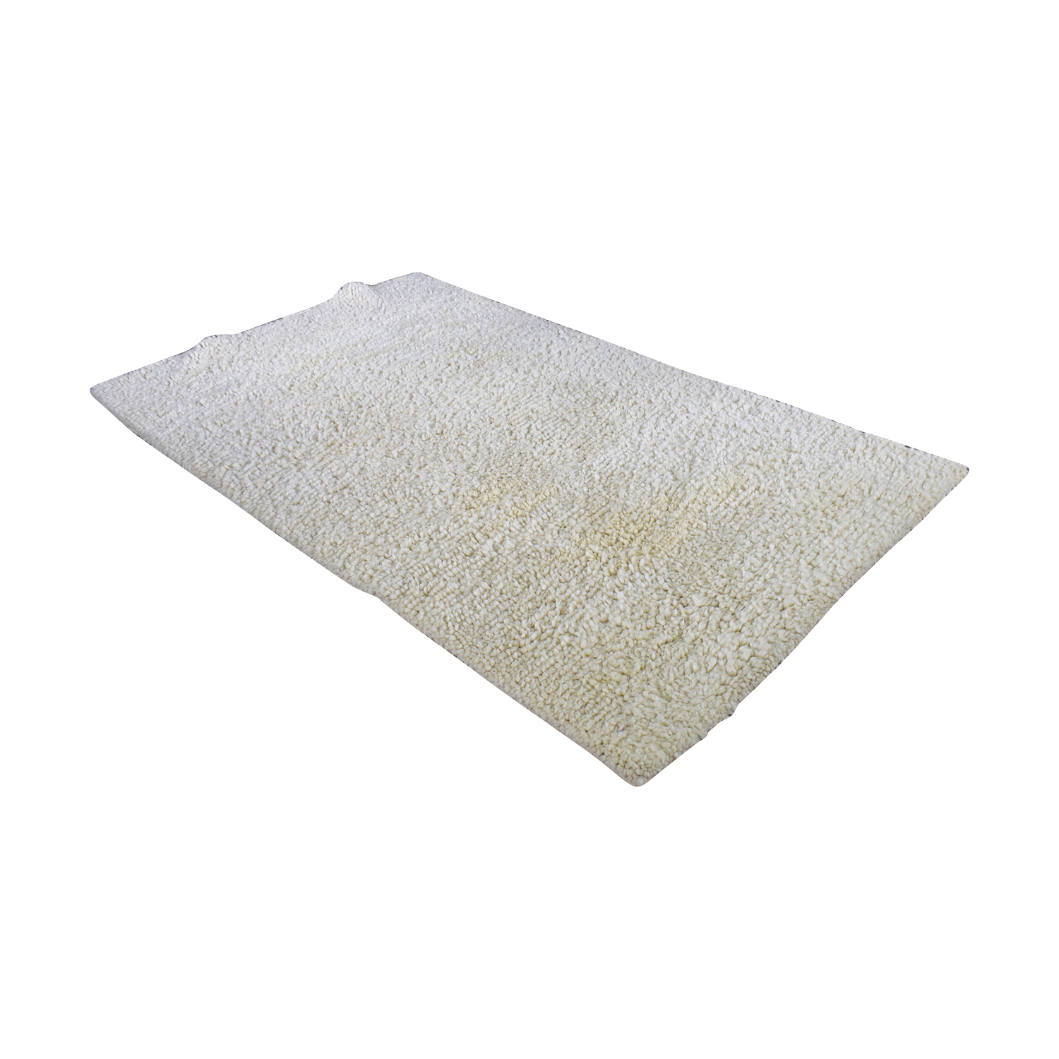 buy Pottery Barn Cream Shag Rug Pottery Barn Decor