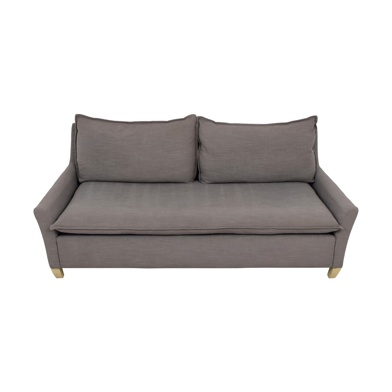 West Elm West Elm Grey Single Cushion Couch