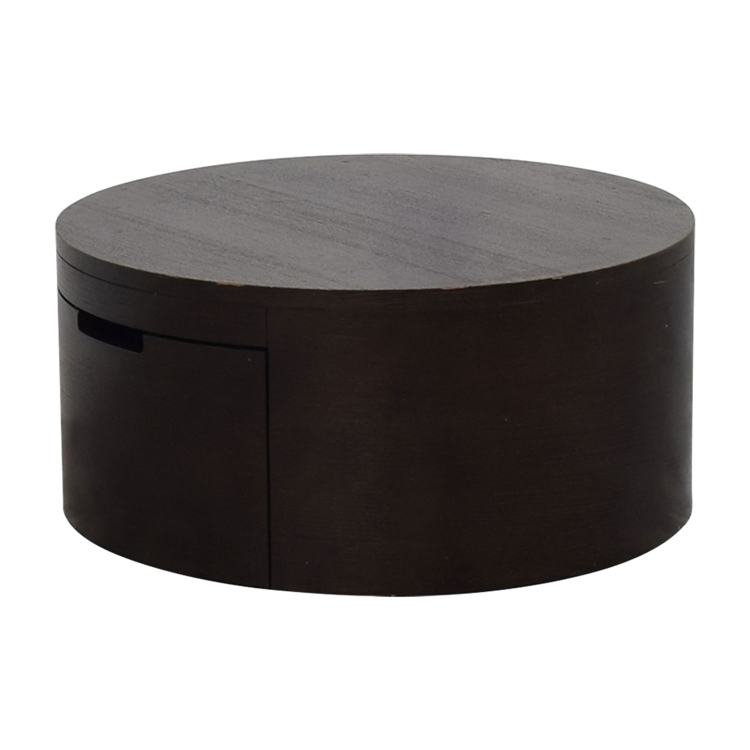 Circle Coffee Table With Storage 10