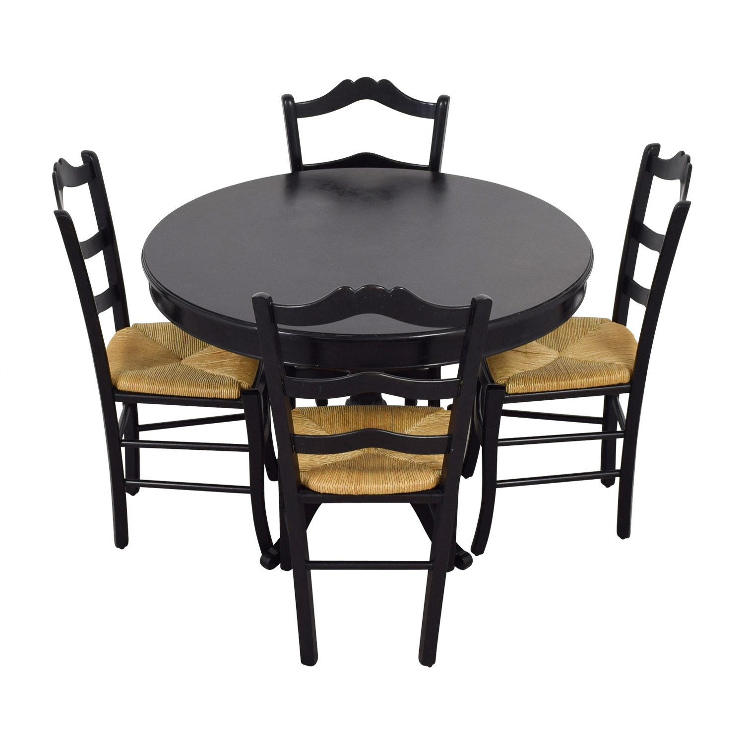 Ballard Design Ballard Design Black Round Dining Set nj