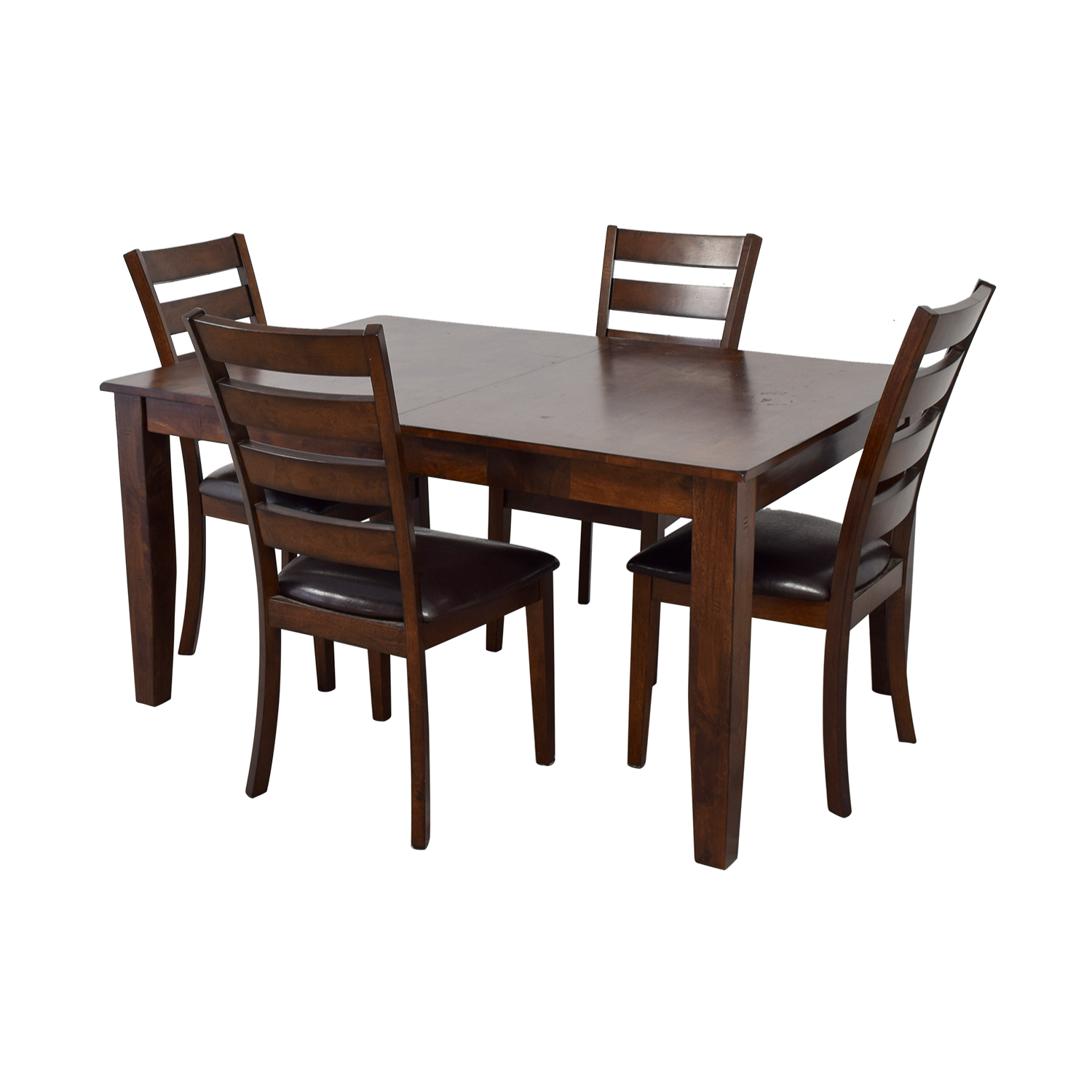 shop Raymour & Flanigan Raymour & Flanigan Wood Extendable Kitchen Dining Set online