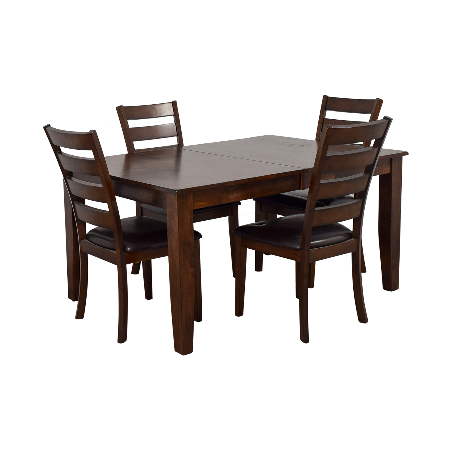 Raymour & Flanigan Wood Extendable Kitchen Dining Set / Tables