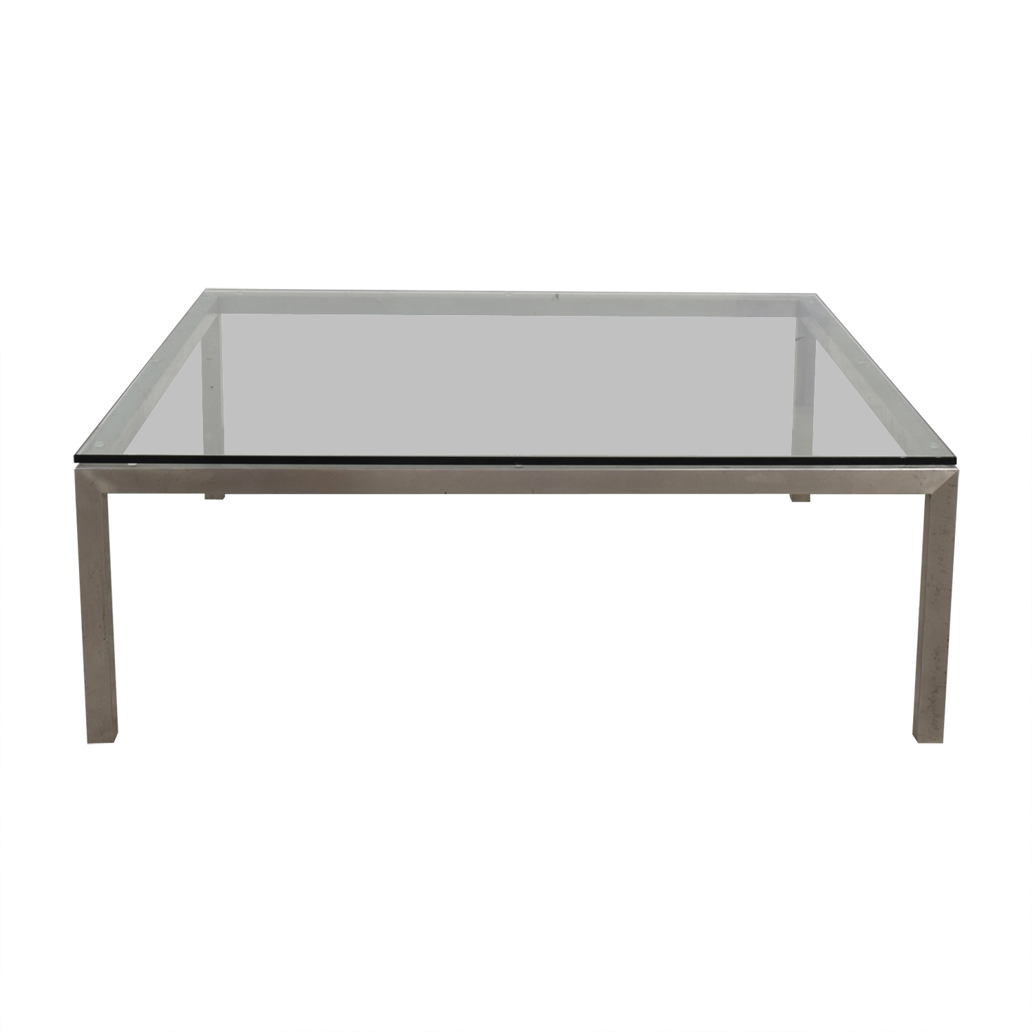 buy Room & Board Portica Glass Top Coffee Table Room & Board Tables