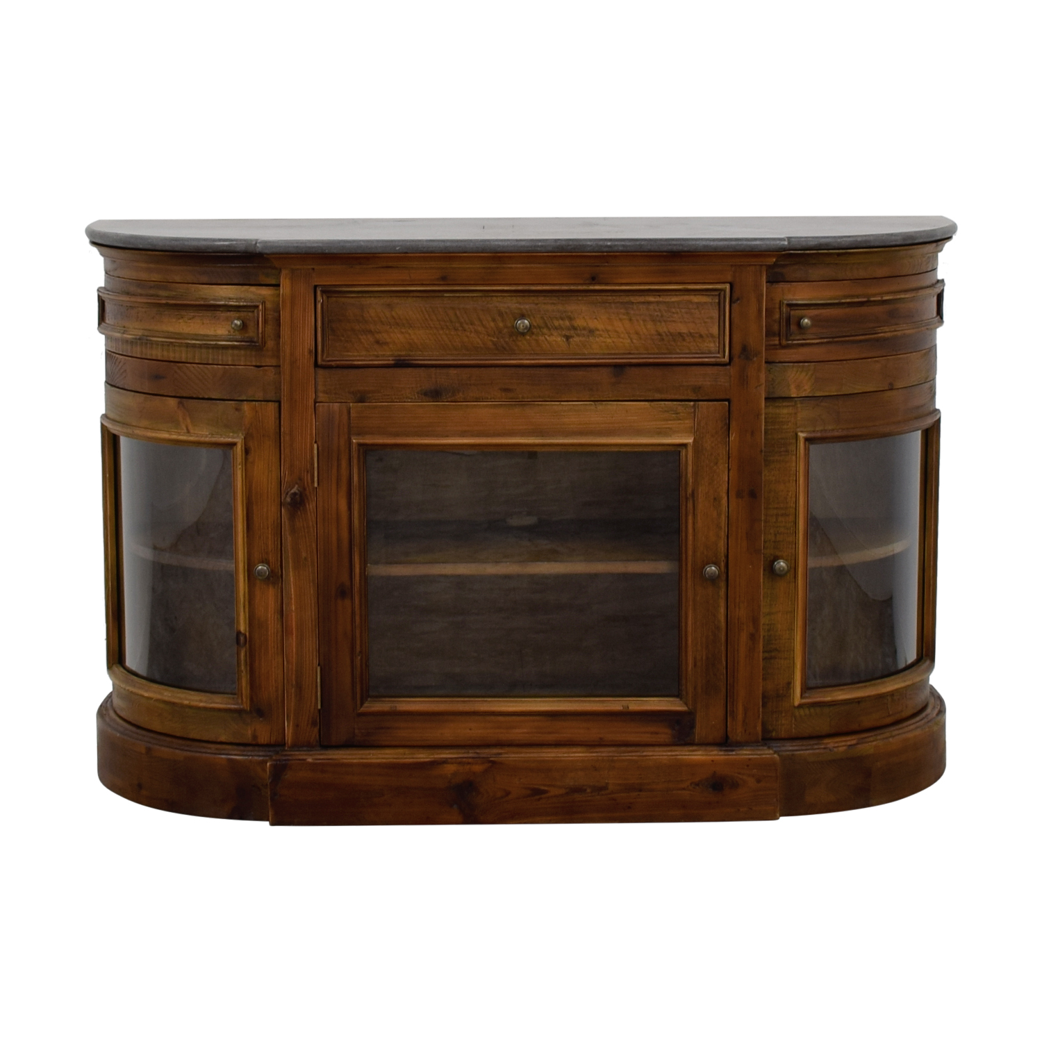Arhaus Kensington Wood Media Cabinet Arhaus