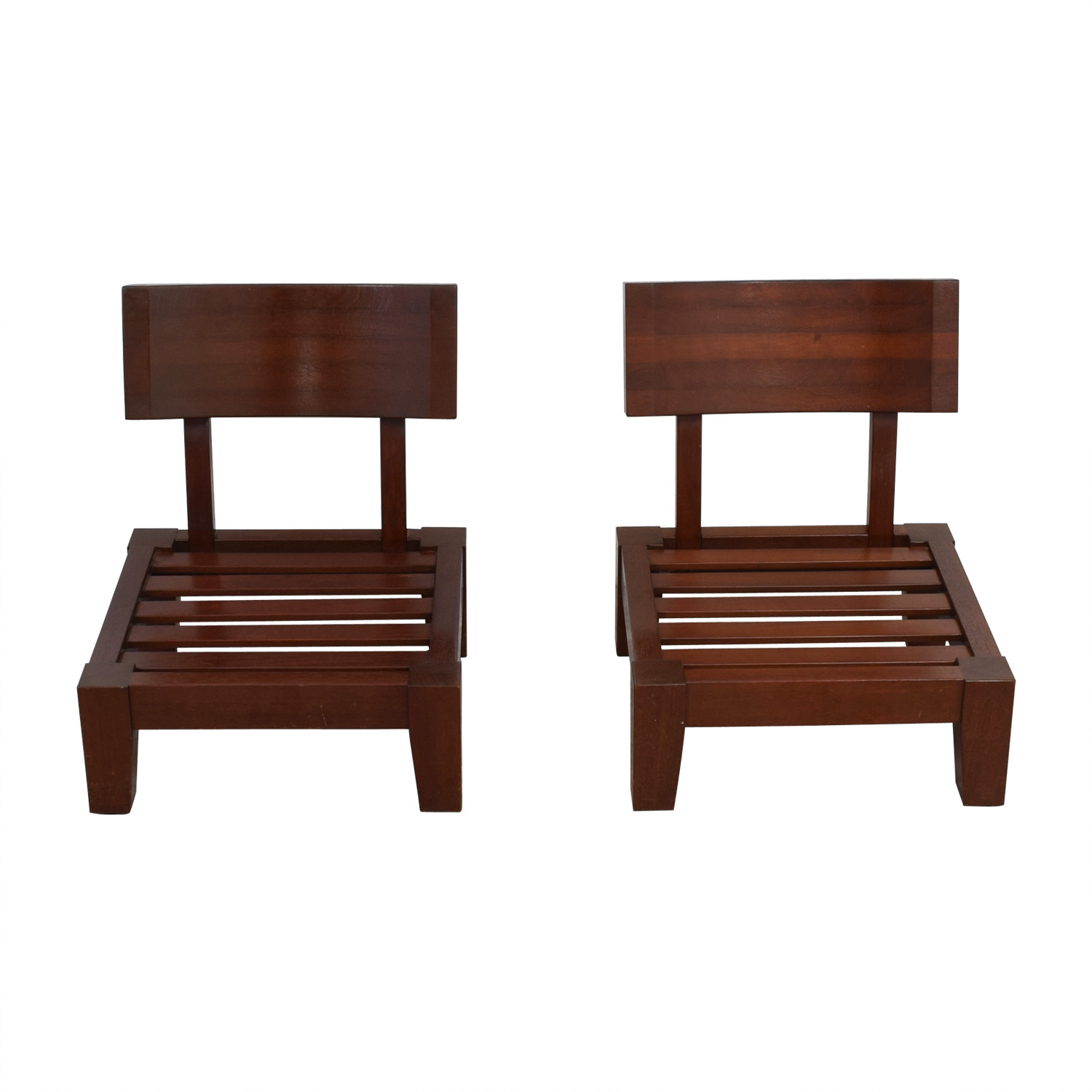 ... Mahogany Wood Sitting Chairs For Sale ...