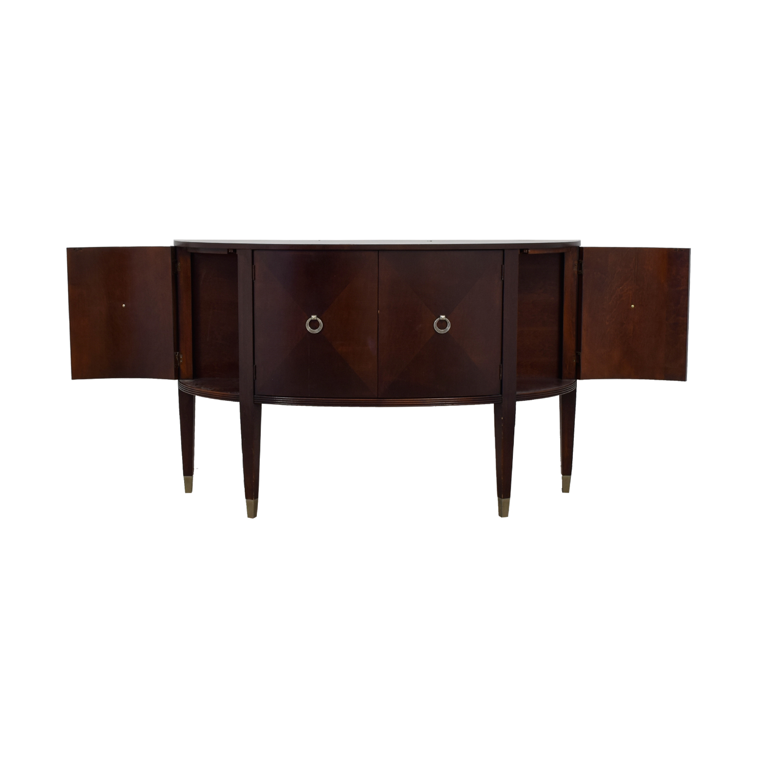 Ethan Allen Ethan Allen Wood Buffet Console Table Sofas