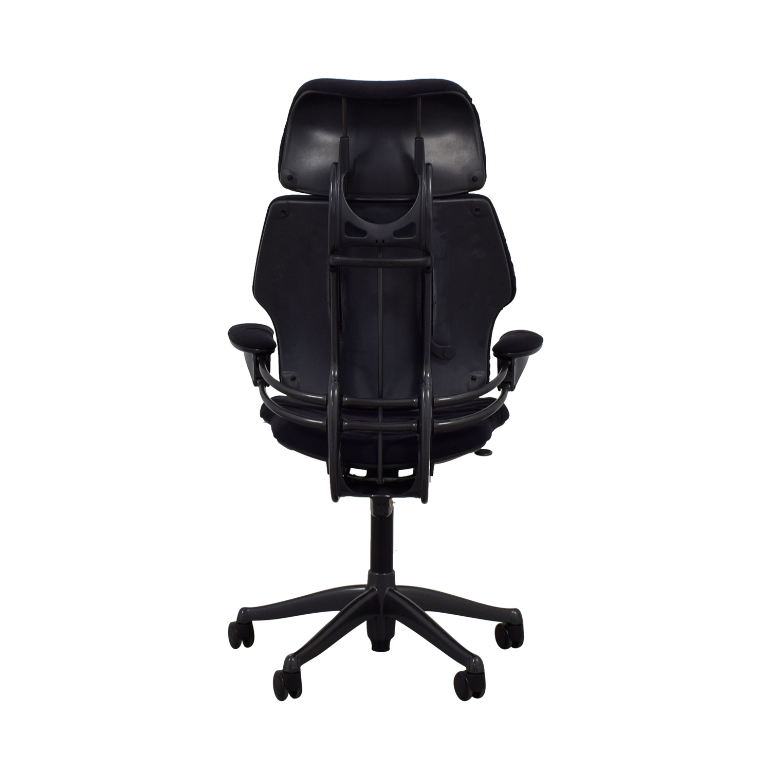 Human Scale Human Scale Black Freedom Chair with Headrest on sale