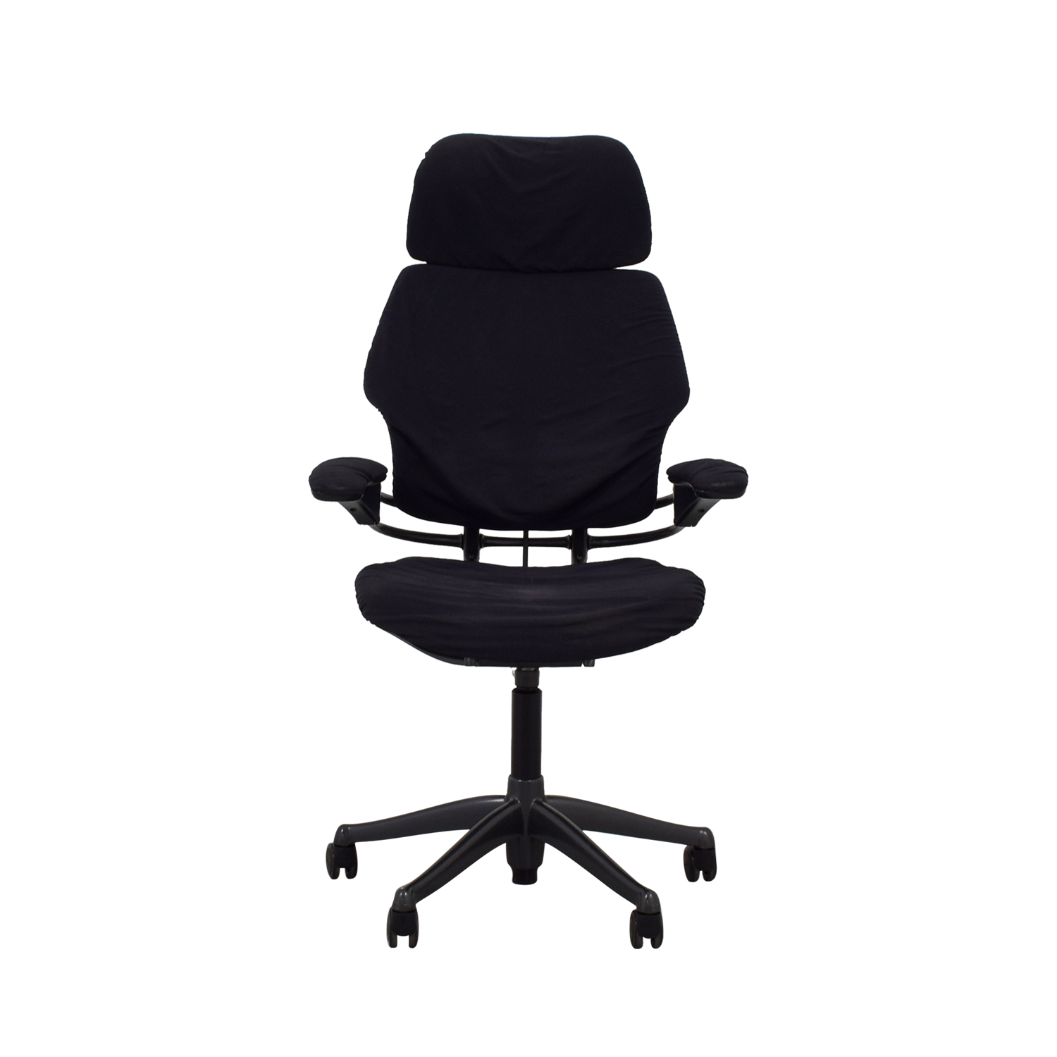 Human Scale Human Scale Black Freedom Chair with Headrest for sale